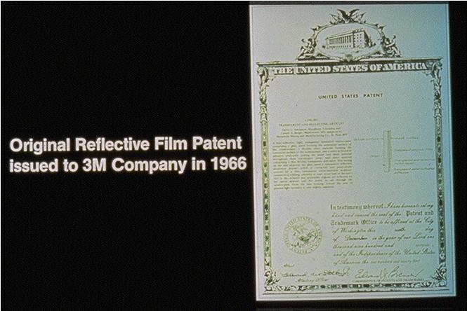 Patent na autofólie společnosti 3M